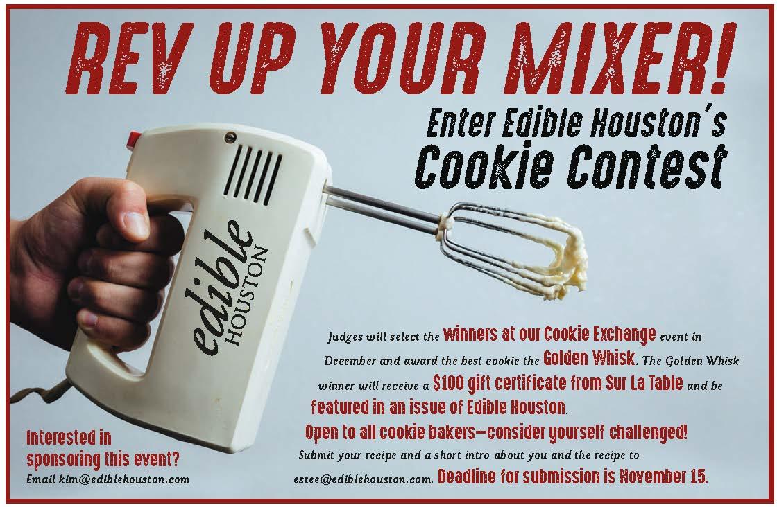 Edible Houston\'s 2017 Cookie Contest | Edible Houston