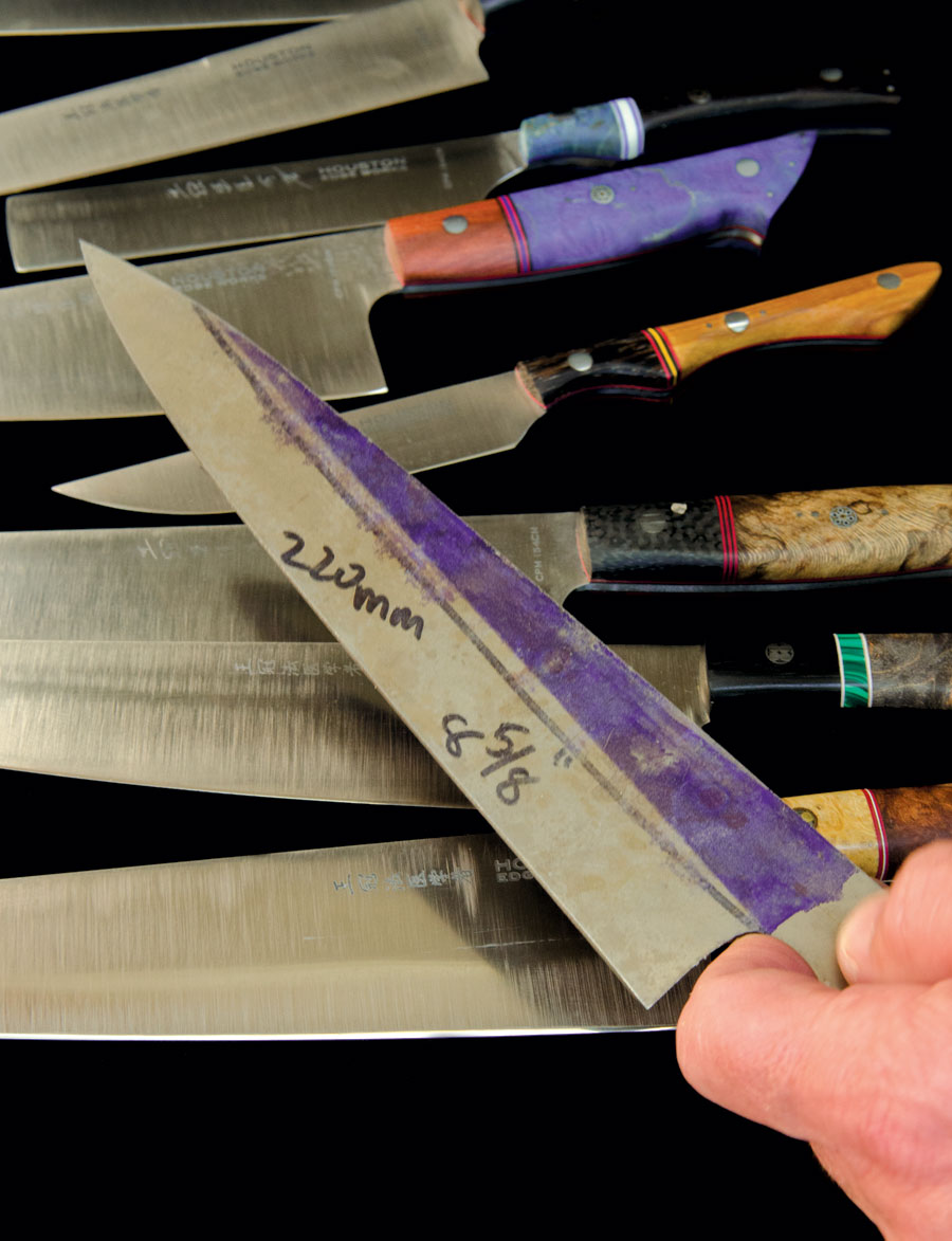 houston knife maker is a favorite with local chefs edible houston. Black Bedroom Furniture Sets. Home Design Ideas