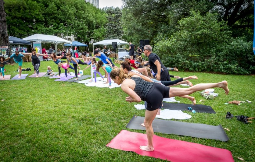 Yoga On The Meadow Edible Houston