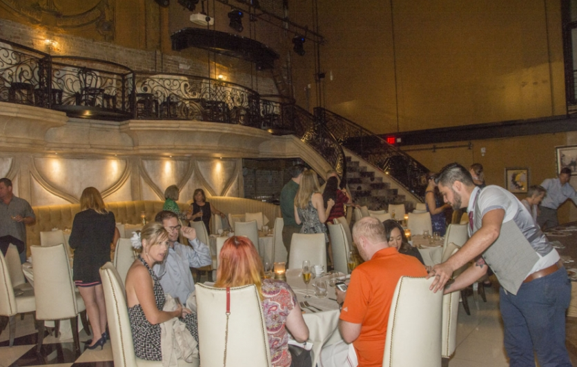 people enjoying a great meal at Prohibition Supperclub