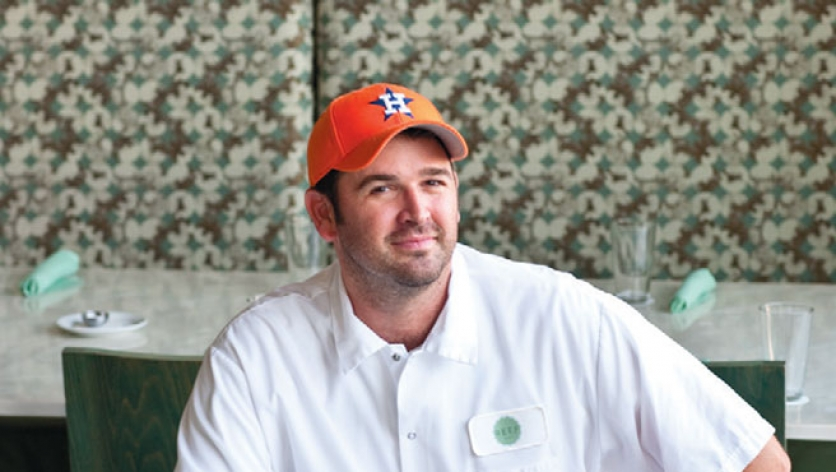 Bryan Caswell chef at Reef