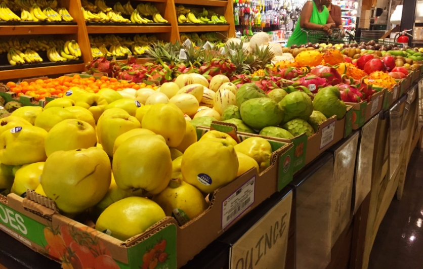 local grocery, fruits, vegetables, local food