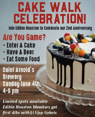 cake walk celebration