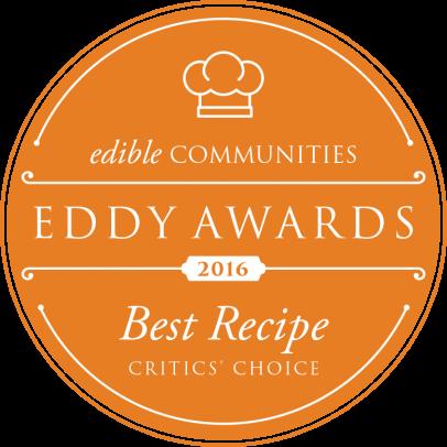 edible Houston wins Eddy Award for Best Recipe