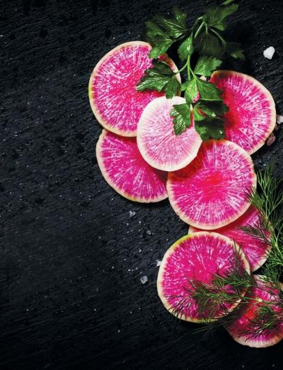 Watermelon Radishes Edible Houston