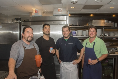 chefs from Bramble, Karbach Brewery and Prohibition Supperclub