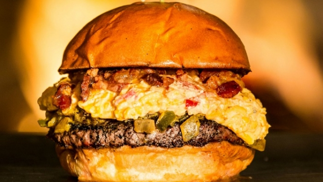 Eddie burger at Liberty Kitchen