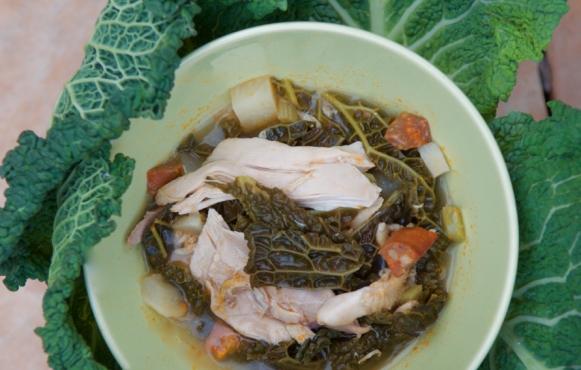 chicken-cabbage