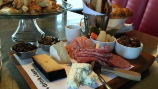 meat and cheese board urban eats
