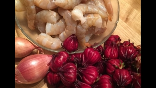 roselle, risotto